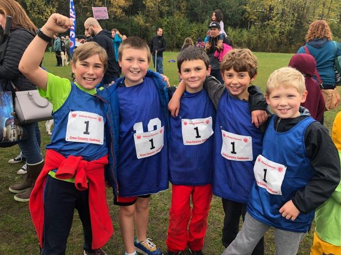 Cross Country Jamboree Runners